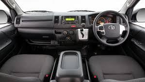 Toyota Hiace Van Interior Dimensions Toyota Hiace Lwb Crew Van 2017 Review Carsguide