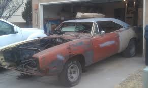 1969 dodge charger project 1969 dodge charger rt se t5 copper luggage rack car for b bodies