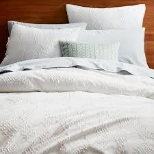 Pillow And Duvet Set Roar Rabbit Organic Crisscross Duvet Cover Shams West Elm