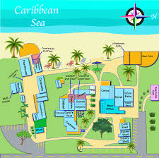 Caribbean Sea Map by Map Of Property