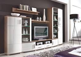 Wohnzimmerschrank Nussbaum Massiv Wohnwand Groß Komfortabel Auf Wohnzimmer Ideen Oder