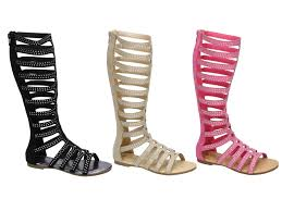 zip sandals for girls ebay