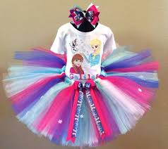 frozen anna u0026 elsa olaf birthday girls tutu