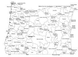 State Of Oregon Map by Oregon Deq Water Quality Usgs Oregon Subbasins Map