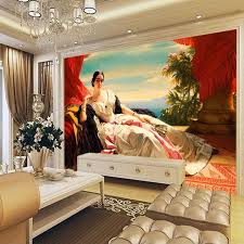 european oil painting wallpaper 3d custom photo wallpaper portrait of leonilla wall murals bedroom living room decor world famous painting oil painting 3d