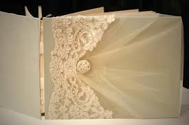 handmade photo album photo album 9 12 guest book ivory on pistachio green lace