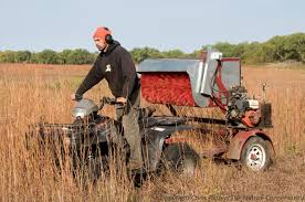 harvest seeds and native plants our new mechanical seed harvester the prairie ecologist