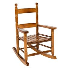 Rocking Chair Teak Wood Rocking Jack Post Oak Children U0027s Patio Rocker 08101784 The Home Depot