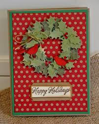 lovely punch art wreath cards card making scrapbooking