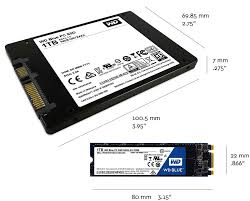 western digital blue 2 5 7 mm cased internal solid state drive for