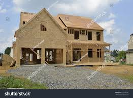 single family home under construction house stock photo 110376596