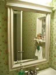 Bathroom Mirrors Framed by 36 Best Framing Bathroom Mirrors Images On Pinterest Bathroom