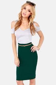 high waisted pencil skirt green skirt pencil skirt high waisted skirt 27 00