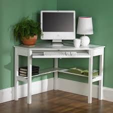 desk white l shaped desk with hutch small black corner computer