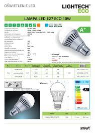 Led Light Bulb Conversion Chart by Led Bulb E27 Eco 10w Smart Warm White