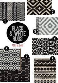 Black And White Braided Rug 25 Best Black White Rug Ideas On Pinterest Apartment Bedroom