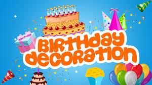Birthday Decorating Ideas