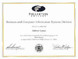online design of certificate web design certification online graphic design certificate online
