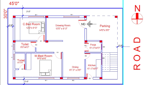 floor plan for 2bhk house in indian