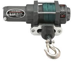 viper max 4500 lb winch sidebysidestuff com