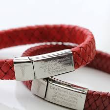 blood bracelet images Medical alert bracelet by morgan french jpg