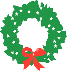 free christmas wreath clipart clip art library