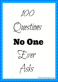 100 questions no one ever asks 4 hats and frugal