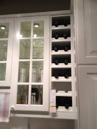 Kitchen Wine Cabinet Kitchen Wine Rack Idea But I Don U0027t Need This Much Storage