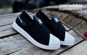 Sepatu Adidas Slip On jual sepatu adidas slip on superstar hitam putih di lapak trendzone