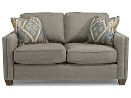 Love Seats Flexsteel Hyacinth Contemporary Love Seat With Welt Cording