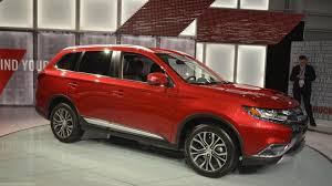 red mitsubishi outlander mitsubishi outlander news and reviews motor1 com