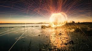 spinning light hd wallpapers 4k
