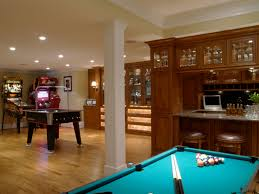 Cool Basement Ideas Stupendous Game Room Basement Contemporary Design Cool Basement