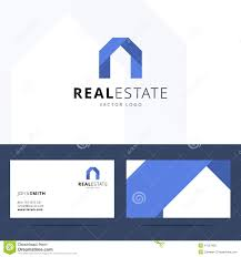 real estate logo template stock vector image 47537936