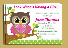 pink blank owl baby shower invitations owl baby shower printable
