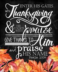 scripture psalm 100 4 chalkboard style watercolor