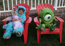 Monster Halloween Costumes Vote Cute Green Halloween Costumes Inhabitots Mike
