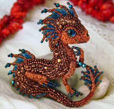 beautiful beaded dragons alena litvin beads magic dragons