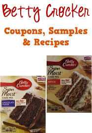 betty crocker coupons sles and thanksgiving recipes