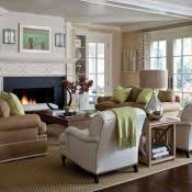 Neutral Living Room Sophisticated But Comfy Living Room Featuring - Furniture family room