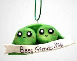 best friend ornament etsy