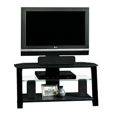 55 Inch Tv Stand Furniture Furniture Beige Sauder Tv Stand Design With Wool Wicker