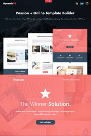 passion html email online builder newsletter template 66236