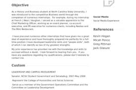 Marketing Intern Resume Sample by Social Resume Bachelor Of Arts Reentrycorps