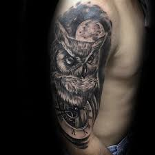 mechanical owl tattoo tattoo collections