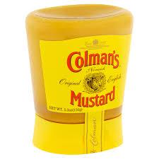 coleman s mustard colman s of norwich original mustard 5 3 oz walmart