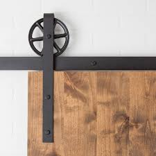 sliding barn door track and rollers traditional 6