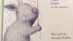 white rabbit u0027s color book