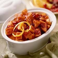 cranberry glazed sweet potatoes recipe myrecipes