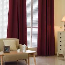 Blackout Curtains For Bedroom Aliexpress Com Buy 1pc Luxchic Window Curtains For Living Room